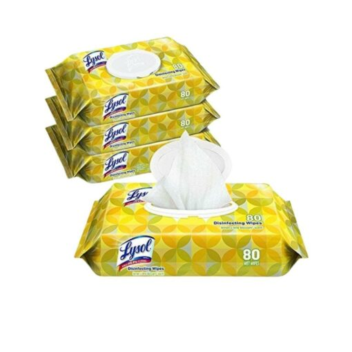 lysol 80 disinfecting wipes