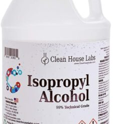 clean house labs Isopropyl Alcohol 99%, One Gallon
